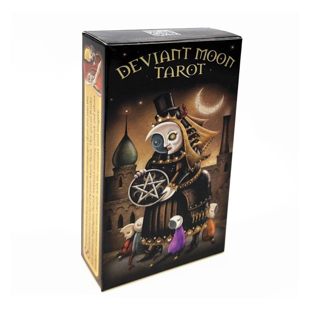 New English Board Game Deviant Moon Tarot Cards English Version Card For Family Party Cards Table Deck Games Entertainment