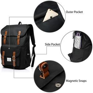 Image 3 - VASCHY  Mens Backpack Student Bag College High School Bags Travel Bag Laptop Backpack bookbag  women backpack