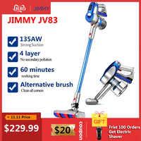 2019 JIMMY JV83 Aspirador inalámbrico Motor Digital 135W fuerte potencia 20KPa gran succión Aspirador colector de polvo para el hogar