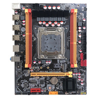 New X79 mainboard X79 v2.71A boards LGA 2011 For Intel I7 E5 V1 E5 V2 DDR3 ECC 32GB USB 4*RAM slots Desktop Motherboard