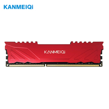 Memória do desktop de kanmeiqi ram ddr3 4gb 8gb 1333mhz 1600/1866mhz com dissipador de calor dimm pc3 cl9 cl11 1.5v 240pin compatível intel/amd