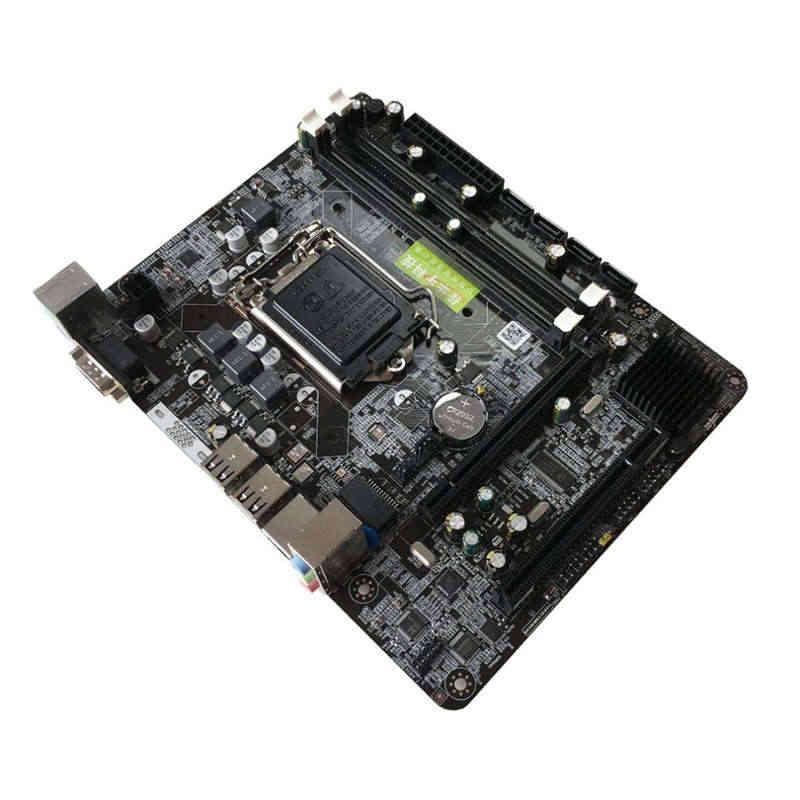 إنتل P55 6 قناة اللوحة الرئيسية P55-A-1156 عالية الأداء كمبيوتر مكتبي اللوحة الرئيسية وحدة المعالجة المركزية واجهة Lga 1156
