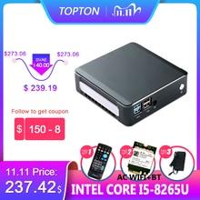 2019 جديد جهاز كمبيوتر صغير إنتل i5 8265U 2 * DDR4 32GB RAM NVME M.2 SSD جيب كمبيوتر Nuc كمبيوتر مكتبي ويندوز 10 برو نوع c 4K HDMI2.0 DP