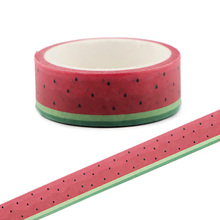CA138 Watermelon Washi Tapes DIY  Painting paper Masking tape Decorative Adhesive Tapes Scrapbooking Stickers недорого