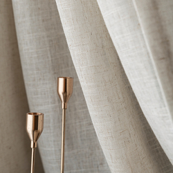 Styl japoński Tulle zasłony do salonu brązowy Cotton Linen Volie zasłony do sypialni Sheer zasłony rolety zasłony okna w Zasłony od Dom i ogród na