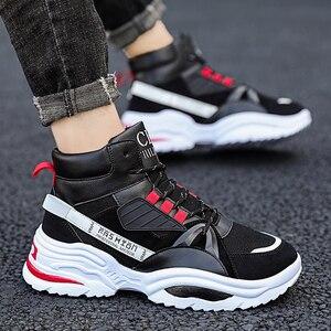 Image 2 - BIGFIRSE Scarpe Da Tennis per Gli Uomini Lace up Traspirante scarpe da Uomo Scarpe di Cotone Per Il Tempo Libero Allaperto Scarpe 2020 Zapatos Hombre Casual Scarpe Da Ginnastica Per uomini