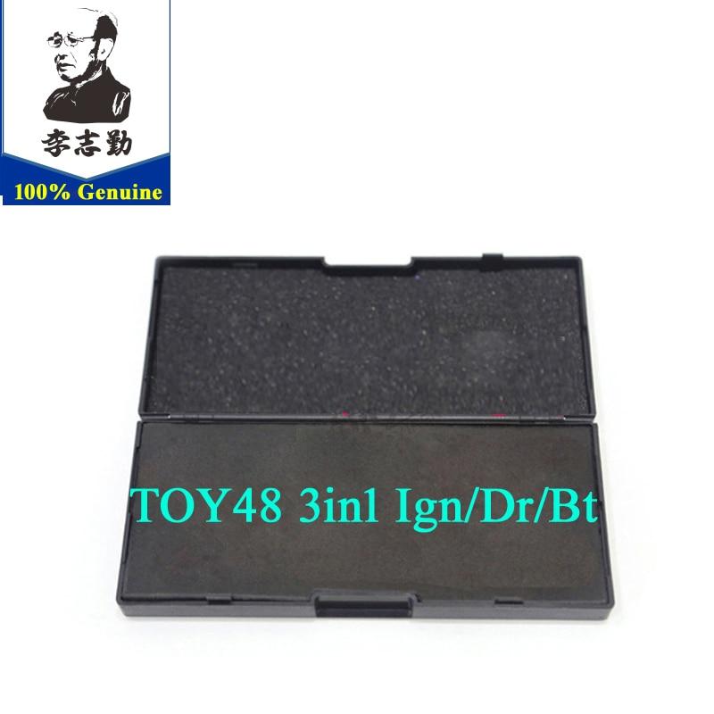 Latest version TOY48 V 3 2in1 Tool lishi 2 in1 car tool locksmith tool