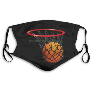 Masque visage basket-ball Swish jeunesse Anti-poussière avec filtre pour hommes pour femmes enfants fille garçon adolescents masques
