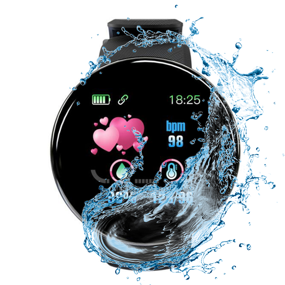 Smart Watch 2020 High Quality HD LCD Screen Watches Motion Fitness Tracker Smartwatch Man Message Reminder IOS Android Phones
