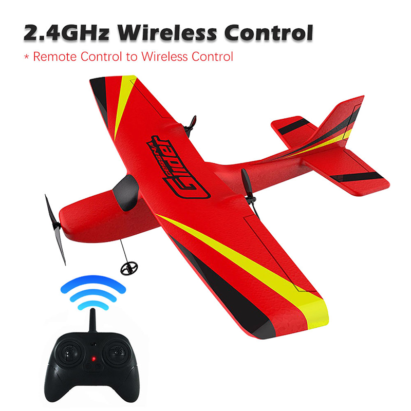 Image 2 - Z50 RC Airplane 2.4G Wireless RC Air Planes EPP Foam Built Gyro Glider 300mAh RC Plane Radio Controlled Aircraft Toy for Boy KidRC Airplanes   -