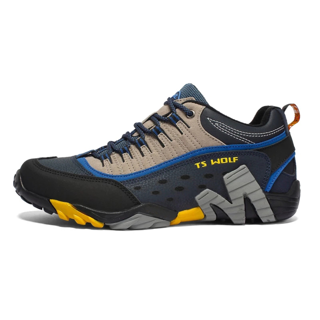 Outdoor Lover Trekking Shoes Men Waterproof Hiking Shoes Mountain Boots Genuine Leather Woodland Hunting Tactical Shoes 3