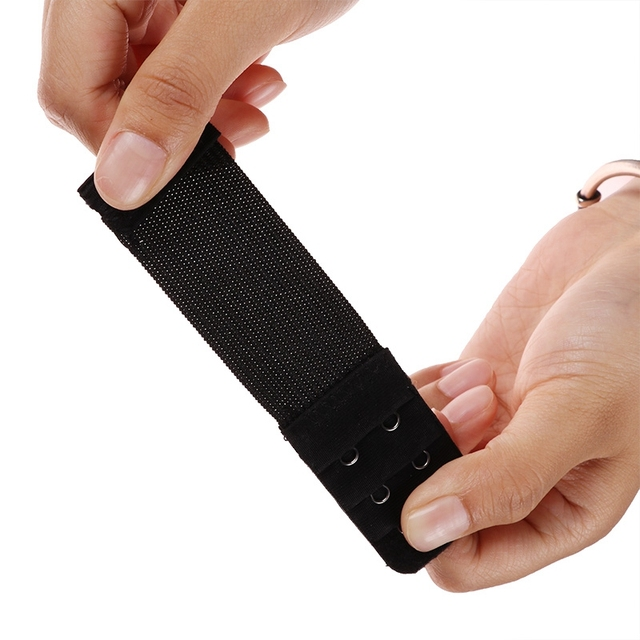 2 Hook Bra Extender For Women's Elastic Bra Extension Strap Hook Clip Expander Adjustable Belt Buckle Intimates 1/3/4 Pcs 5