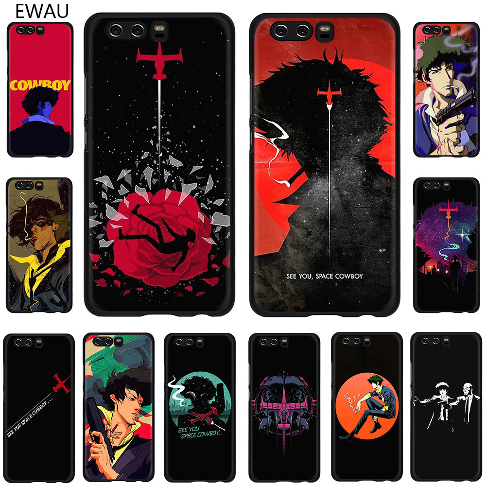EWAU Cowboy Bebop <font><b>Anime</b></font> <font><b>Soft</b></font> Phone Cover <font><b>Case</b></font> For Huawei <font><b>Honor</b></font> view 20 9X 6A 7A 7C 7X 8C 8X Pro <font><b>8</b></font> 9 10 Lite image