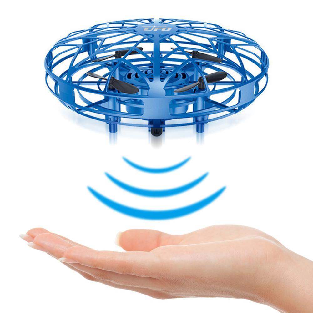 Mini UFO Drone Gesture Sensing Induction Quadcopter Anti-collision Flying Helicopter Suspension Flying Toys For Children Adults