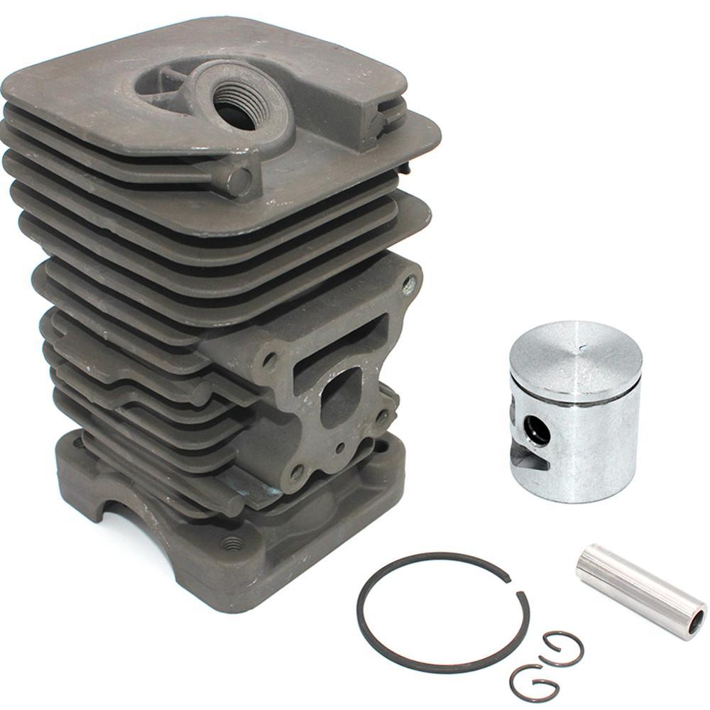 Nikasil Cylinder Piston Kit  For Poulan Chainsaw P3314 P3314WS P3314WSA P3416 P3516PR P3818AV P4018 P4018AV P4018AV-BH P4018