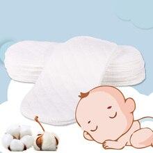 6 шт. детские подгузники многоразовые детские подгузники для новорожденных, экологичные подгузники с вкладышами, 3 слоя хлопка, горячая Распродажа