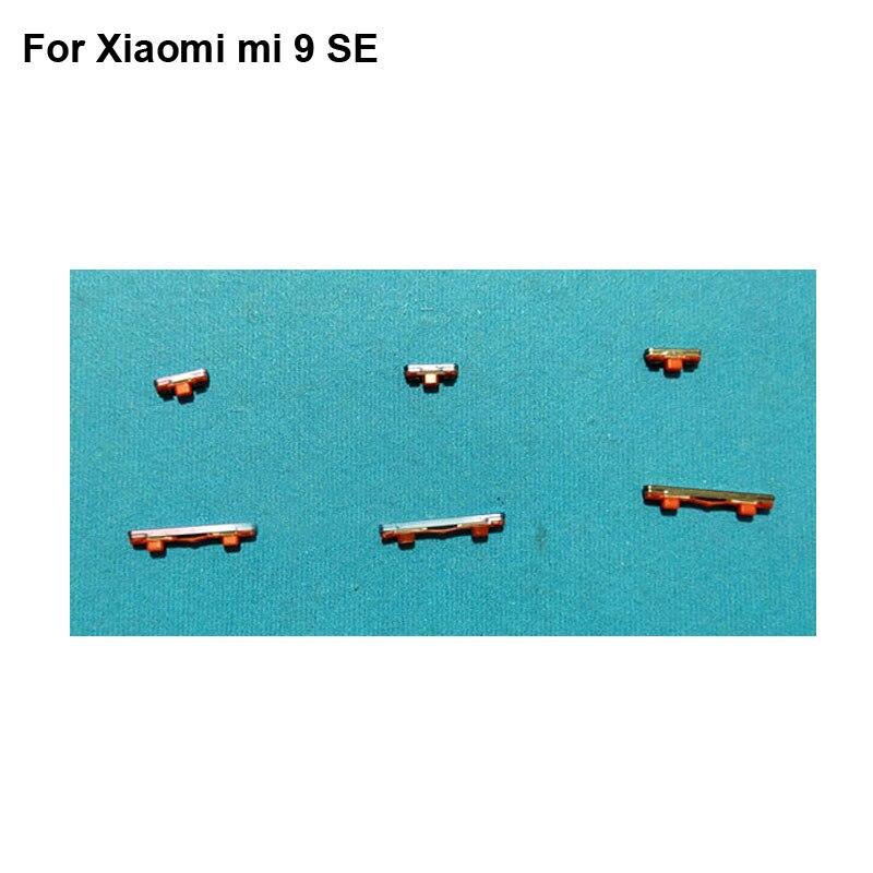 For Xiaomi mi 9 SE Side Button Xiao Mi 9SE Power On Off Button + Volume Button Side Button Set Replacement mI9 se
