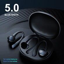 T7 Pro Draadloze Koptelefoon Bluetooth 5.0 Stereo Waterdichte Oordopjes Oorhaak Oortelefoon Sport Hoofdtelefoon Werkt Op Alle Smartphones