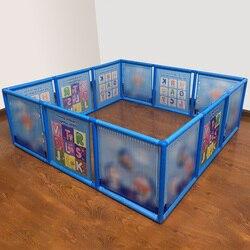 Мультяшный детский пластиковый игровой забор ограждение для безопасности ребенка бассейн детская игра малыш ползание безопасность/бассей...