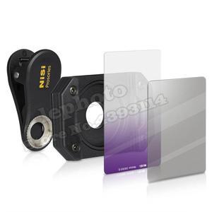 Image 2 - NISI Prosories P1 Smartphone Lens Filter Holder Kit (Filter Holder+ Medium GND+ Polarizer) for iPhone X 8 S8 Scenery Photography