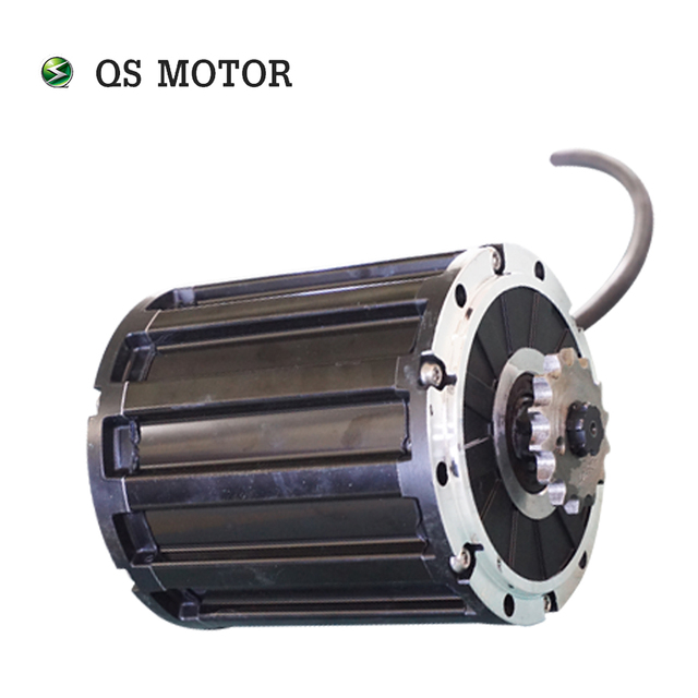 QS موتور ضرس نوع 428 جديد أطلقت المنتج 120 2000 واط 70H منتصف محرك موتور كرسي متحرك دراجة نارية
