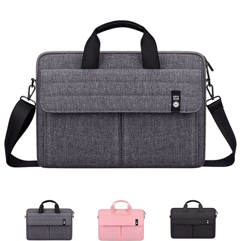 Handbags Laptop Shoulder Bag Case for Dell Inspiron/Toshiba/Acer/<font><b>ASUS</b></font> VivoBook HP 11 12 13 14 <font><b>15</b></font> <font><b>15</b></font>.4 <font><b>15</b></font>.6 inch Sleeve Pouch image