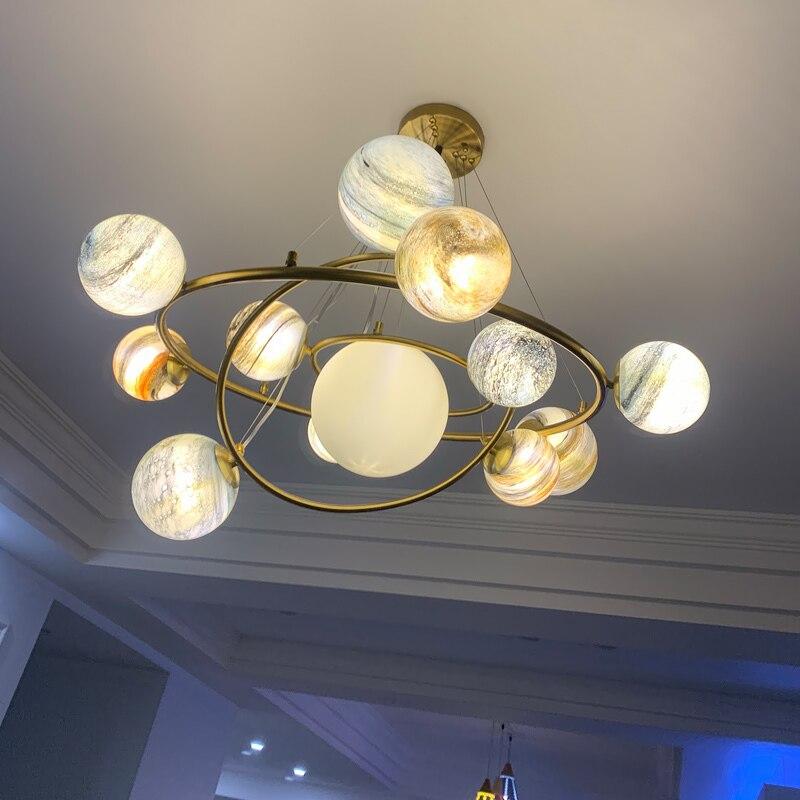 Japan  Hanging Ceiling Lamps Deco Maison Crystal   Living Room  Bedroom Pendant Lights Industrial Lamp Hanging Lamp