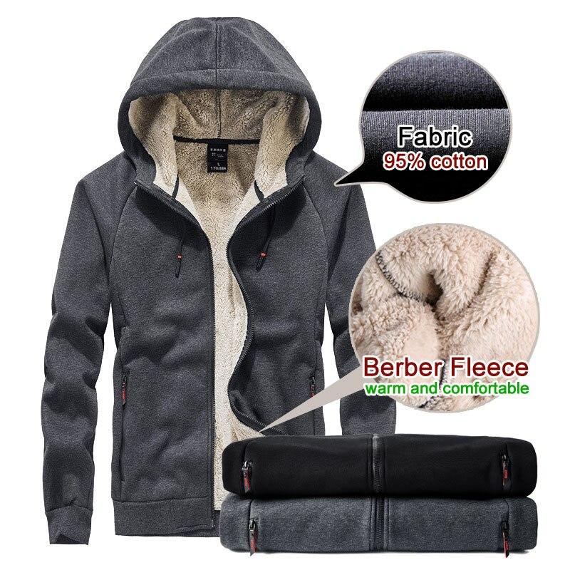 Харадзюку японский волнистый толстовки женские толстовки зимние плюшевые длинные утолщенные флисовые пальто с капюшоном верхняя одежда - 2