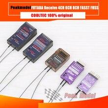 Cooltech Cooltec RFA04 R6008HV R7008-HV 2.4G 4Ch 6Ch 8Ch avec coque métallique pièce Compatible avec FUTABA FASST T8FG 14SG 18SZ