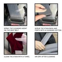 3pc Car Interior Cleaner Liquid Decontamination Accessory Car Interior Decontamination Supplies Car Seat Belt Cleaner 5