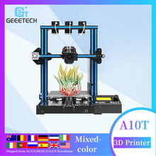 Geeetech 3D Printer A10T 3 In 1 Out Gemengde Eigendom Upgrade GT2560 V4.0 Controlboard 220X220X250 Mm LCD2004 Fdm Ce