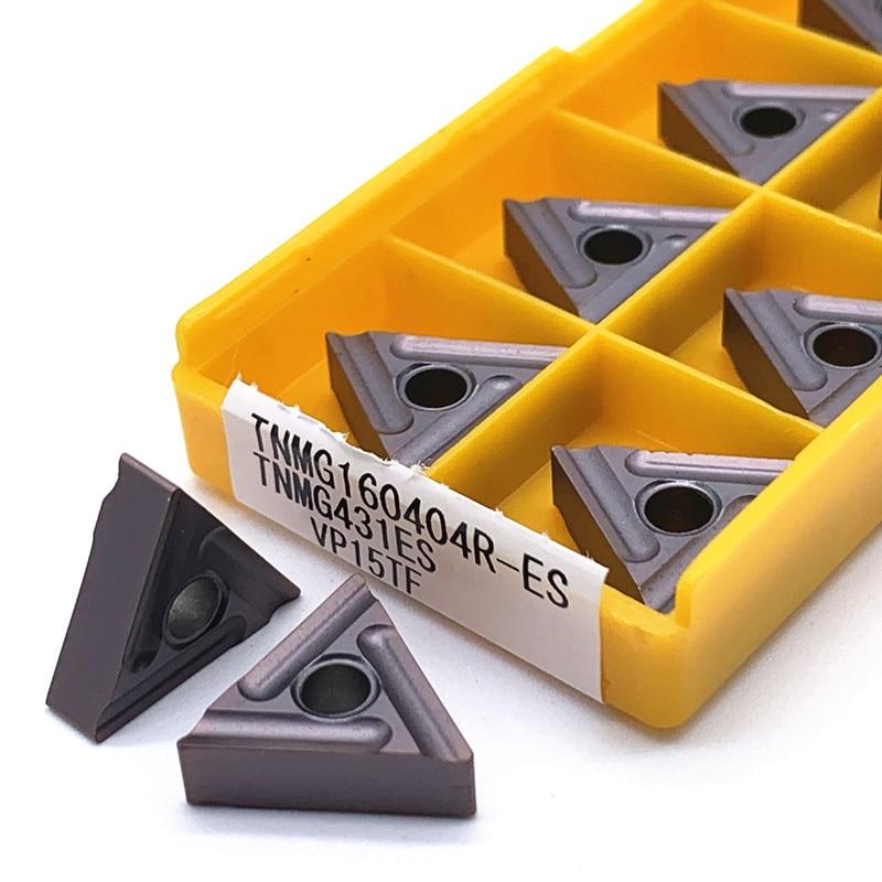 TNMG160404R ES VP15TF UE6020 US735 TNMG CNC Cermet Grade Carbide Inserts Milling Tools Turned Blades Use MTGNR