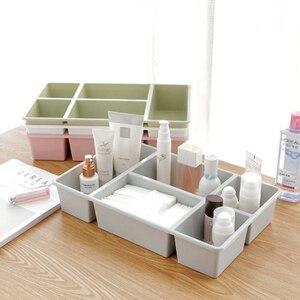 Multifunction Drawer Storage Box Underwear Sock Storage Holder Kitchen Seasoning Rack Desk Sundries Cosmetic Storage Organized