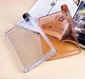 Image 5 - A5 A6กระดาษถ้วยBotlteแบนน้ำขวดBpaฟรีหนังสือแบบพกพากระดาษPadน้ำขวดเครื่องดื่มกาต้มน้ำโน้ตบุ๊คขวด
