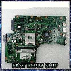 Sheli Voor Toshiba Satellite C650 C655 Laptop Moederbord Notebook Pc Moederbord V000225000 6050A2355202 Cpu HM55 Slgzs