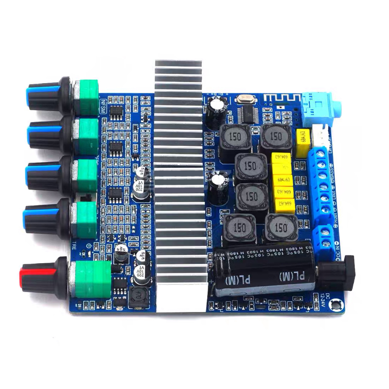 H25cd54ca297547caa2aa97bd7135da8eC - 2*50W+100W TPA3116 Bluetooth HIFI Power Subwoofer Amplifier Board 2.1 Channel TPA3116D2  Audio Stereo equalizer Amp