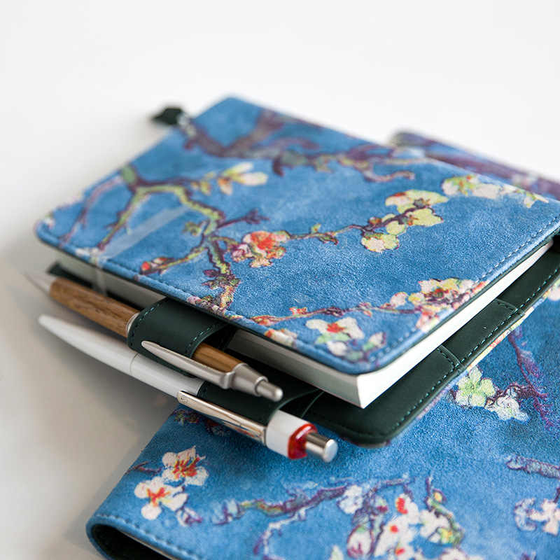 Van Gogh Painting Cover For Standard A5 A6 Diary Notebook Cute