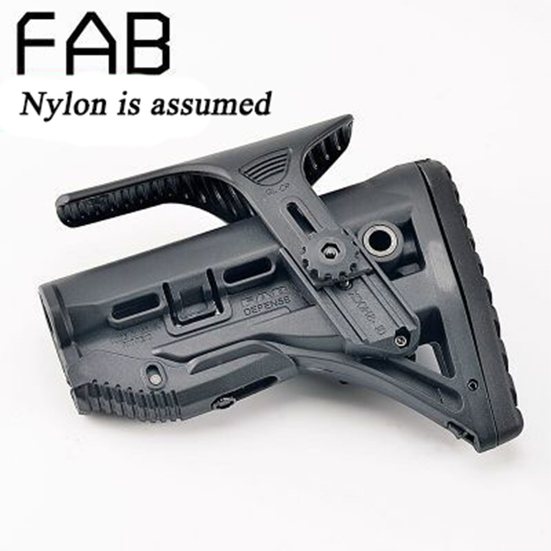 High Quality Nylon Adjustable Extended Stock For Paintball Accessories Airsoft Air Guns AEG M4 AK Gel Blaster J8 J9 CS Sports