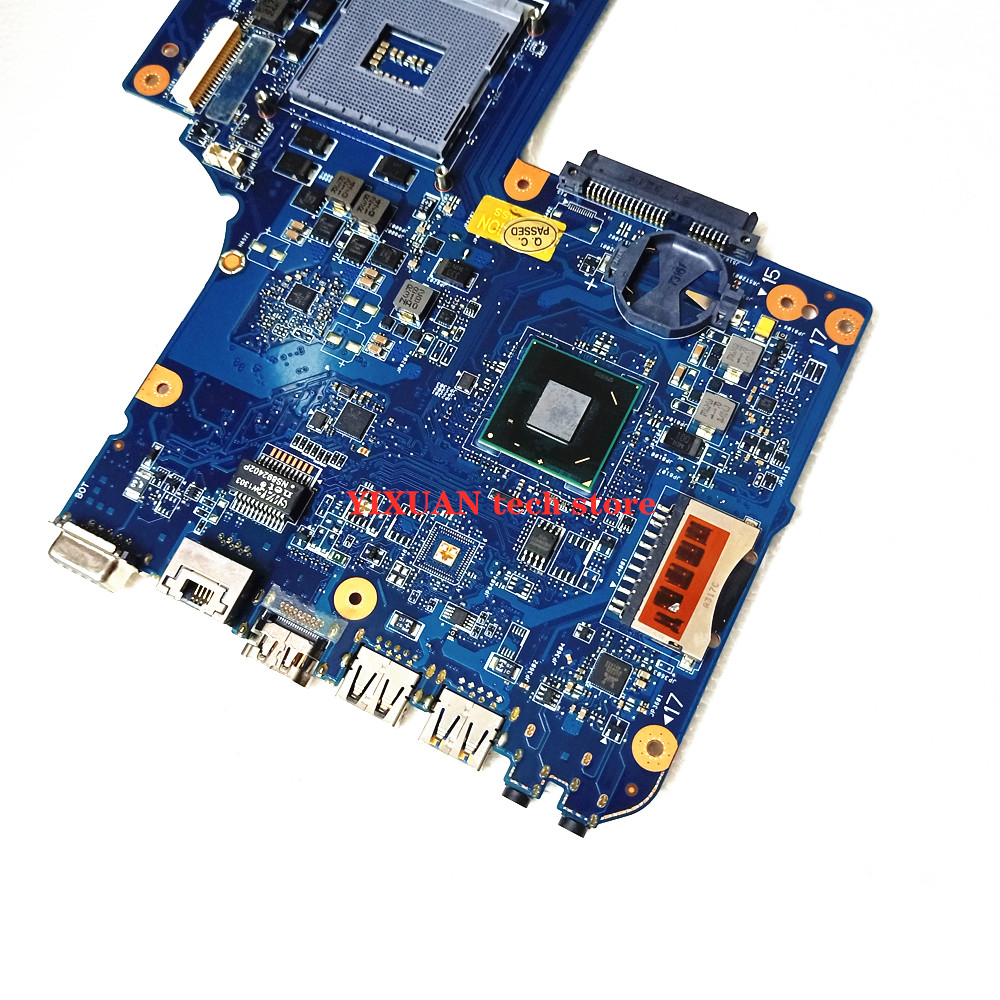 H000038380 H000038370 laptop motherboard for toshiba C850 L850 C855 L855 Mainboard HM76 SLJ8E Support i3 i5 i7 100% test work 3