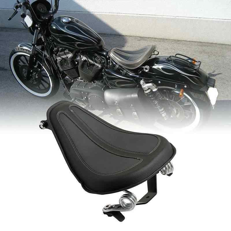 Motocicleta, asiento individual y soportes de muelle para Harley Sportster 2004-2006, Iron 883 XL1200 XL883 2004-18