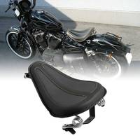Motorcycle Moto Solo Seat & Brackets Spring For Harley Sportster 2004 2006 Iron 883 XL1200 XL883 2004 18