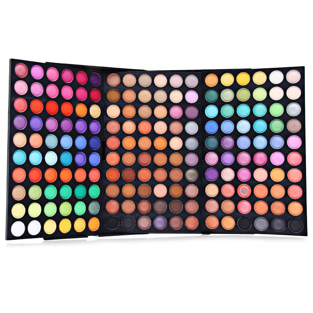 Popfeel 180 / 252 оттенков мерцающие блестящие тени для век палитра водостойкая косметика профессиональные матовые тени для век крем макияж палит...