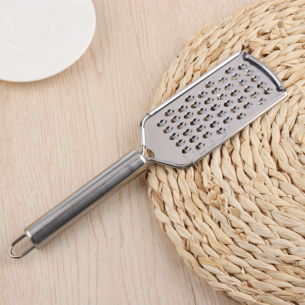 1Pc Multi-Purpose Stainless Steel Sharp <font><b>Cheese</b></font> <font><b>Grater</b></font> Butter Slicer Lemon Fruit Vegetable <font><b>Citrus</b></font> <font><b>Zester</b></font> Planer Kitchen Tool image
