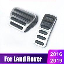 цена на Car Accelerator Brake Pedals Cover For Land Rover Range Rover Sport Vogue Discovery 3 4 LR3 LR4 L405 L494 L462 2014-2018 2019