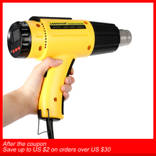 AC220 Digital Electric Hot Air Gun Temperature controlled Building Hair dryer Heat gun Soldering Tools Adjustable+ Nozzle