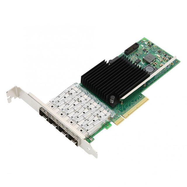 Компьютерная шина PCI-E X8 10G 10 Gigabit 4-Порты и разъёмы волоконно-оптической сети карта адаптера X710-DA4 для Intel XL710BM1 Лидер продаж