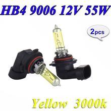 Halogen Bulbs Yellow Light-Lamps Auto-Headli 3000K Hb4 9006 12v 55w NEW 2PCS P22d Z4W4