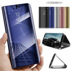 На Алиэкспресс купить чехол для смартфона luxury mirror smart flip case for vivo v15 s1 z1 pro iq00 neo y7s clear view kickstand flip case for iqoo neo y17 leather capa