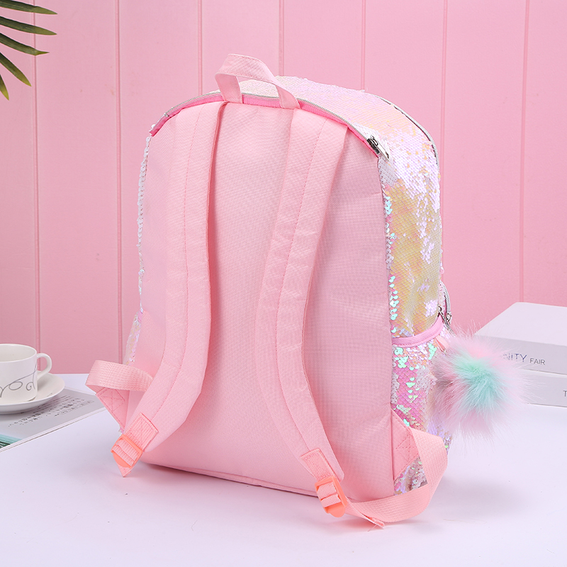 [New Arrival] Hologram Sequin Unicorn Hooded Backpack