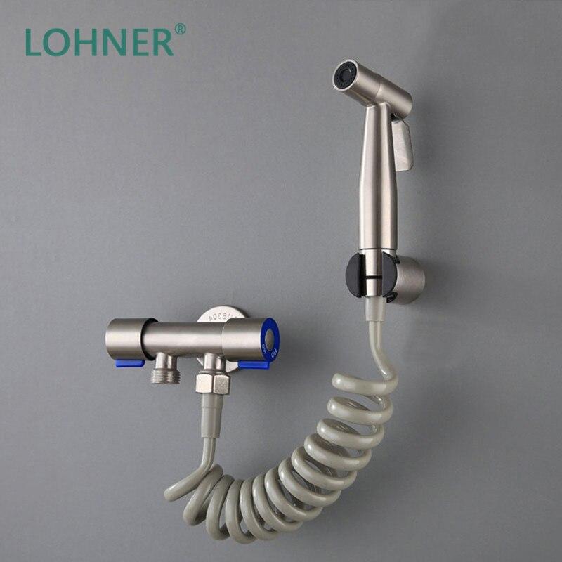 Lohner Handheld Toilet Clear Rear Bidet Bathroom Sink Faucet Sprayer Set Douchette Wc Regadera Para Ducha Limpieza Vaginal Bidets Aliexpress